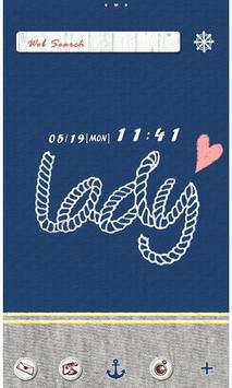 Cute Theme-Marine Lady- poster