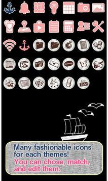 Cute Theme-Marine Lady- apk screenshot