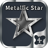 Metallic Star Wallpaper icon