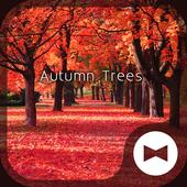 Autumn Trees wallpaper theme icon