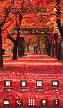 Autumn Trees wallpaper theme apk screenshot
