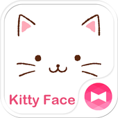 Cute Theme-Kitty Face- icon