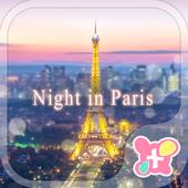 Beautiful Theme-Night in Paris icon
