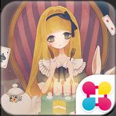 Alice's Tea Party Wallpaper icon