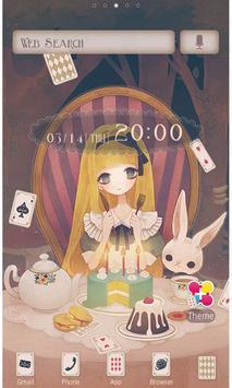 Alice's Tea Party Wallpaper poster
