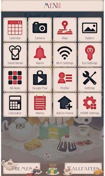 Alice's Tea Party Wallpaper apk screenshot