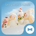 Cute Wallpaper Snowman Friends Theme
