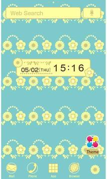 Lemonade flowers Wallpaper poster