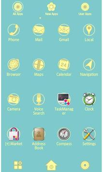 Lemonade flowers Wallpaper apk screenshot