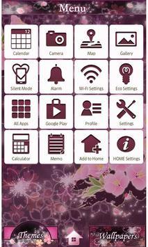 Cheery Blossom Mystic Theme apk screenshot