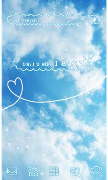 Cute Theme-Sky Above- poster