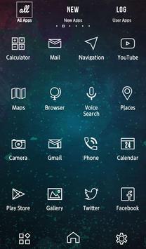SPACE BLACK Wallpaper apk screenshot