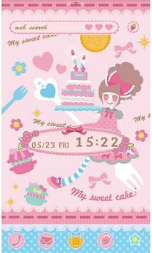 Pop Theme-Sweet Cake- poster