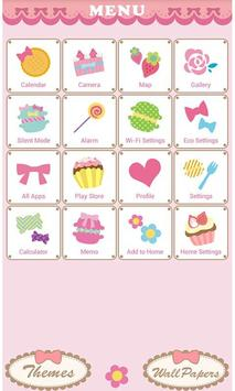 Pop Theme-Sweet Cake- apk screenshot