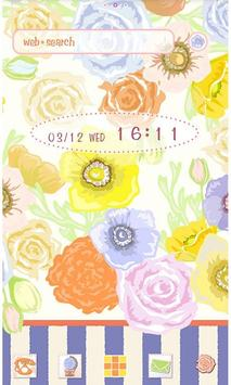 Flowers Theme-Colorful Flower- poster