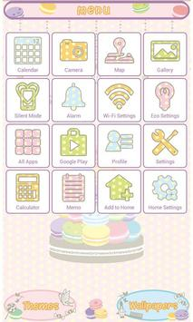 Cute Wallpaper Sweet Macaron apk screenshot