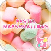 Wallpaper-Pastel Marshmallows- icon