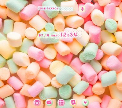 Wallpaper-Pastel Marshmallows- poster