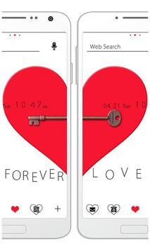 [Pair Wallpaper]Pair Heart poster
