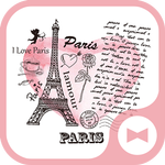Cute Wallpaper Paris Love Theme APK