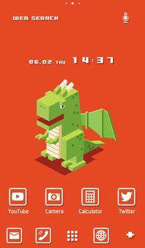 Dragon Wallpaper 8-Bit poster
