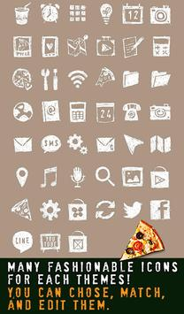 Stylish wallpaper-Pizza Time!- apk screenshot