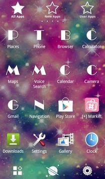 Galaxy Theme Pink Universe apk screenshot