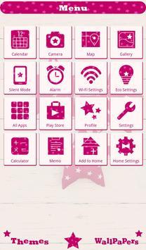 Pink Stars wallpaper screenshot 1