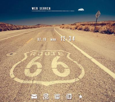 Stylish Theme-Route 66- poster