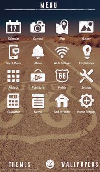 Stylish Theme-Route 66- apk screenshot
