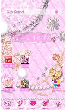 Royal Pink Wallpaper Theme Poster