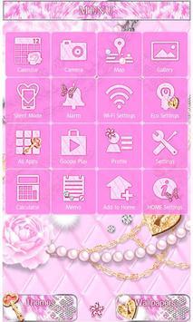 Royal Pink Wallpaper Theme Poster Apk Screenshot
