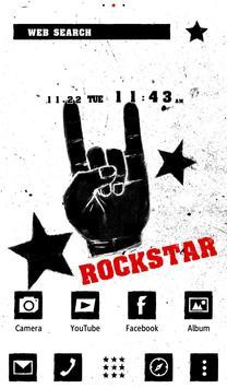 Rock On Wallpaper Theme apk screenshot
