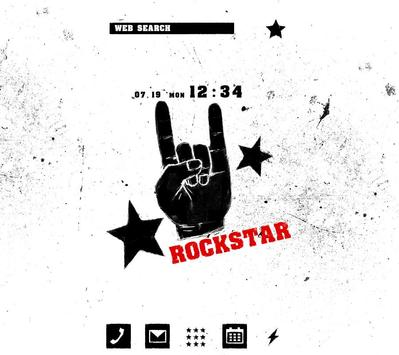 Rock On Wallpaper Theme poster