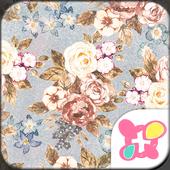 Flower Theme Romantic Roses icon