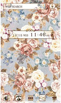 Flower Theme Romantic Roses poster