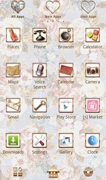 Flower Theme Romantic Roses apk screenshot