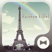Симпатичные обоиRainbow Eiffel иконка