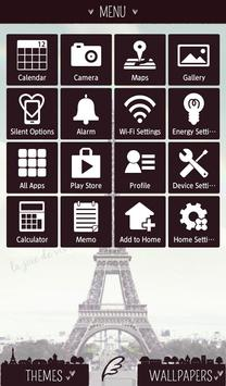 Симпатичные обоиRainbow Eiffel скриншот 1