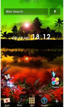 Rasta Night Wallpaper Theme poster