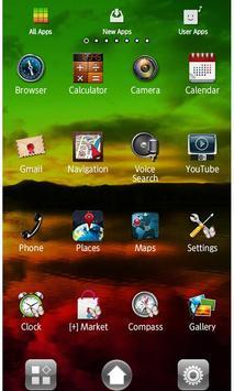 Rasta Night Wallpaper Theme apk screenshot
