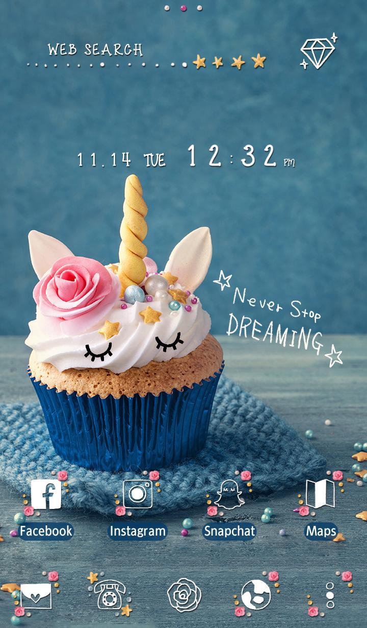 Android 用の かわいい壁紙アイコン ユニコーン カップケーキ 無料 Apk をダウンロード