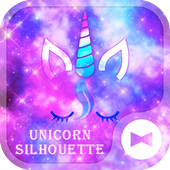 Dreamy Wallpaper Unicorn Silhouette Theme icon