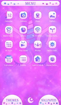 Dreamy Wallpaper Unicorn Silhouette Theme screenshot 1