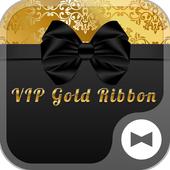 Stylish Theme-VIP Gold Ribbon- icon
