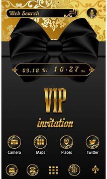 Stylish Theme-VIP Gold Ribbon- poster