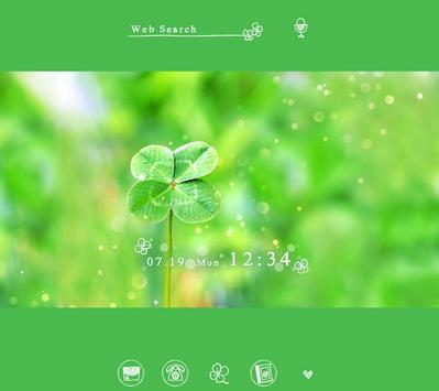 Four-Leaf Clover +HOME Theme poster