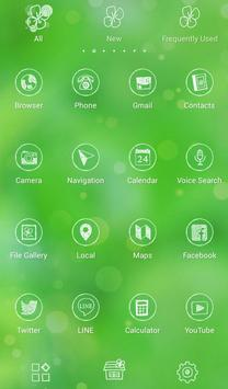 Four-Leaf Clover +HOME Theme apk screenshot