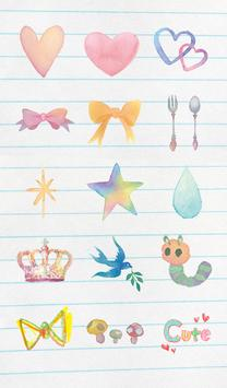 Stamp: Water Color & Pencils apk screenshot