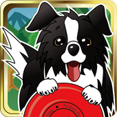 Disc Dog (Frisbee dog) icon